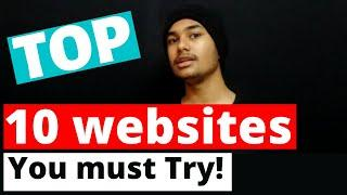 10 Amazing Websites You Can Try During Lock down | Technoxity | Top 10 websites