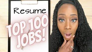 Top 100 Work From Home Jobs in 2021| The Companies Hiring!