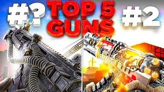 Top 5 Guns for Season 5 of COD Mobile!