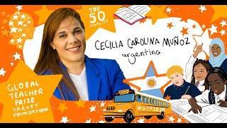 Anuncio TOP 50 - Global Teacher Prize 2020