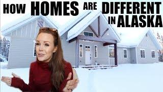 HOW HOMES ARE BUILT DIFFERENT IN ALASKA | BUILDING A HOME IN ALASKA |Somers In Alaska