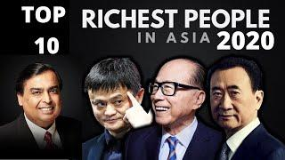 Top 10 Richest People in Asia 2020|Richest Billionaires of Asia|Asia Billionaire's Net Worth&Source|