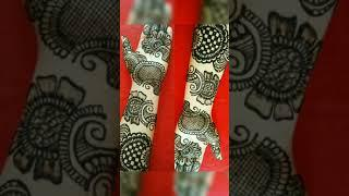 top 10 front & back hand bangle mehndi design/belt type mehndi/#shorts video/mehndi design/#shorts