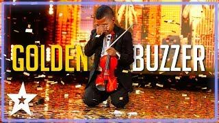 TOP VIOLINIST Tyler Butler Figueroa on America's Got Talent 2019 | Kids Got Talent
