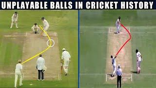 Top 10 Unplayable Balls in Cricket | Unplayable Balls in Cricket History | Ball Of The Century  2020