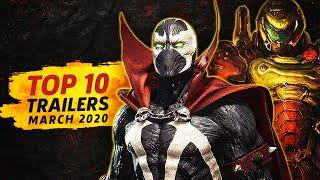 Top 10 Most Popular Game Trailers | March 2020