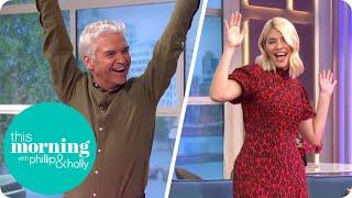 Keeping Spirits Up With Another Dance-Along! | This Morning