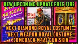 Free Fire upcoming Diamond Royal Costume
