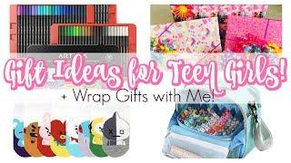 WHAT I GOT MY TEEN DAUGHTER FOR HER BIRTHDAY + WRAP WITH ME | GIFT IDEAS FOR GIRLS | TEEN GIFT IDEAS