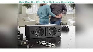Top 10 Audioengine B2 Wireless Bluetooth Speaker   Home Music System Desktop Speaker with aptX Blue