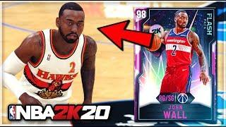 *NEW* PINK DIAMOND JOHN WALL IS INCREDIBLE!! | THE BEST VALUE POINT GUARD IN NBA 2K20 MyTEAM!!