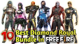 Best Diamond Royal Bundle In Free Fire   10 Most Demanded Luck Royal Dresses