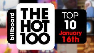 Early Release! Billboard Hot 100 Top 10 Singles  (January 16th, 2021) Countdown