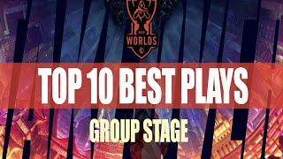 2020 LoL World Championship | TOP 10 BEST PLAYS | Group Stage