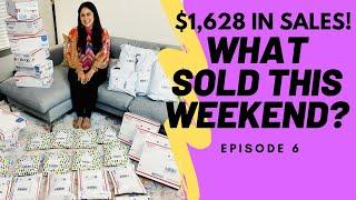 I made $1,628 over the weekend as a full time reseller on Poshmark, Ebay, Mercari! What sold? EP. 6