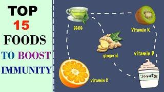 Top 15 Foods To Boost Your Immunity: How To Boost Natural Immunity