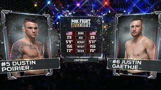 UFC 257 Free Fight: Dustin Poirier vs Justin Gaethje
