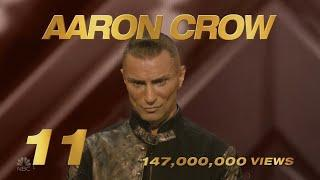 America's Got Talent 2020 Aaron Crow Number 11 AGT Top 15 Viral Memorial Moments S15E10