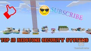 Top 10 Minecraft Redstone Security Systems