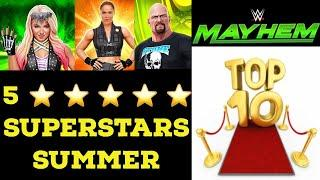 WWE Mayhem - Top 10 5 Star Superstars Summer 2020
