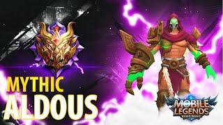 """Best of """"Mythic"""" THE BEST Mobile Legends Player - Aldous - Mobile Legends 2020"""