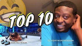 Top 10 Friday Night SmackDown moments: WWE Top 10, Feb. 7, 2020 REACTION