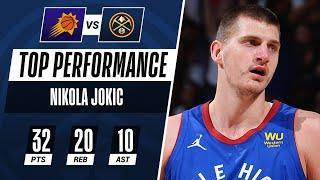 Nikola Jokic Makes #NBAPlayoffs History in Game 3!
