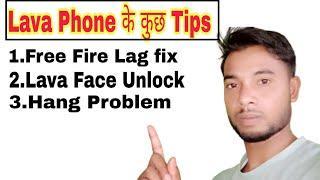 Top 5 big Problem on Lava Smartphone/ Free Fire Lag fix,hang problem