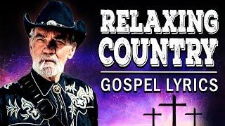Relaxing Old Country Gospel Songs  2021 With Lyrics  - Top 100 Country Gospel Hymns Playlist