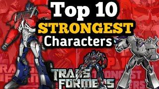 Transformers Prime Top 10 Strongest Characters Of All Time ||Transformers  Beast Hunters in Hindi