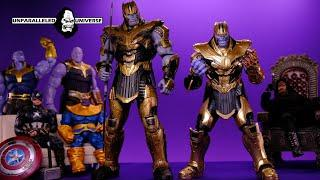 Marvel Select Vs S.H Figuarts: Avengers End Game Thanos