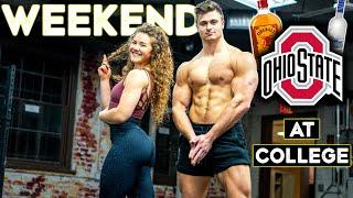 WHAT'S A WEEKEND LIKE AT OHIO STATE!? | Full Weekend at College