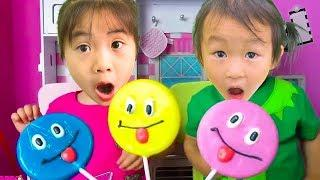 Learn Colors for Kids With Lollipops Children Toddlers Finger Family Nursery Rhyme Songs