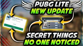 New Biggest Update Is Out In Pubg Mobile Lite   Pubg Mobile Lite New Update Features With Proof