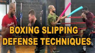 Boxing Slipping and Defense Techniques 2019 || Boxing Defense Styles || Sports Fitness Club