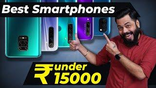 Top 5 Best Mobile Phones Under ₹15000 Budget ⚡⚡⚡ June 2020