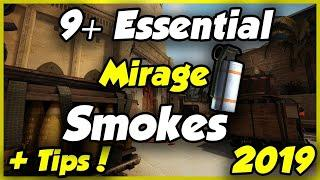 top 10 mirage t side smokes  64 tick easy essential for a good game