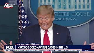REFLECTION: President Trump ends portion of newser remembering Stanley Chera