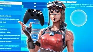 The *BEST* Controller Fortnite Settings/Sensitivity! *UPDATED* Chapter 2 Settings Xbox/PS4