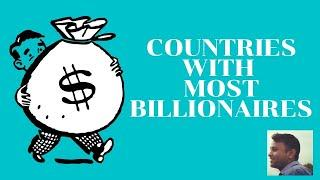 Top 10 countries with highest number of billionaires 2020