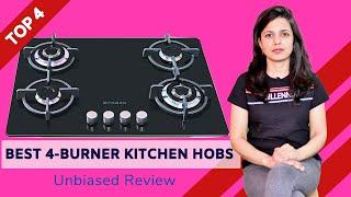 ✅ Top 4: Best Kitchen Hobs in India With Price 2020 | 4 Burner Gas Hob Review & Comparison