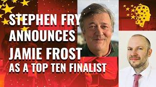 Stephen Fry Announces UK Teacher Jamie Frost As A Top 10 Finalist For The Global Teacher Prize 2020
