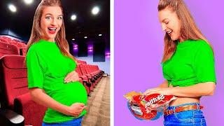 BEST WAYS TO SNEAK FOOD! || Funny Sneaking Hacks by 123 Go! Genius!