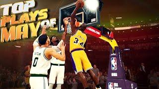 TOP 5 PLAYS OF MAY - NBA 2K20 Buzzer Beaters, Trick Shots, Ankle Breakers & More