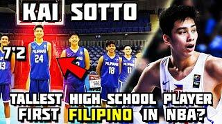 7'2 FILIPINO GIANT KAI SOTTO IS A TOP 10 PROSPECT FOR NBA DRAFT! 2021 ROOKIE OF THE YEAR POTENTIAL!