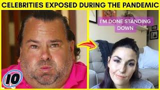 Top 10 Celebrities That Got Exposed During The Pandemic - Part 2