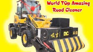 Top Amazing Road Cleaning Machines | Pro Machines | Mind Blowing Vehicles