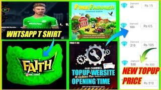 Top up website problem solved  Topup website confirm opening date Free fire new event today Pakistan