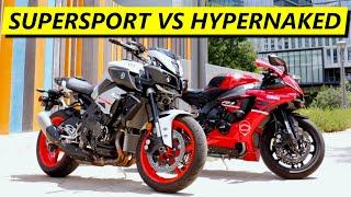 Yamaha MT10 vs R1 - Is the Naked Bike Any Better?