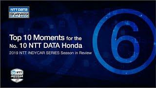 2019 Season in Review: Top 6 Moment for the No. 10 NTT DATA Honda